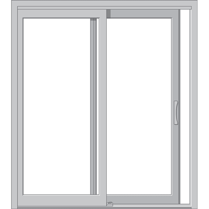 sliding patio door graphic for hurricane shield