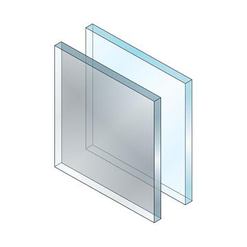 gray tinted glass