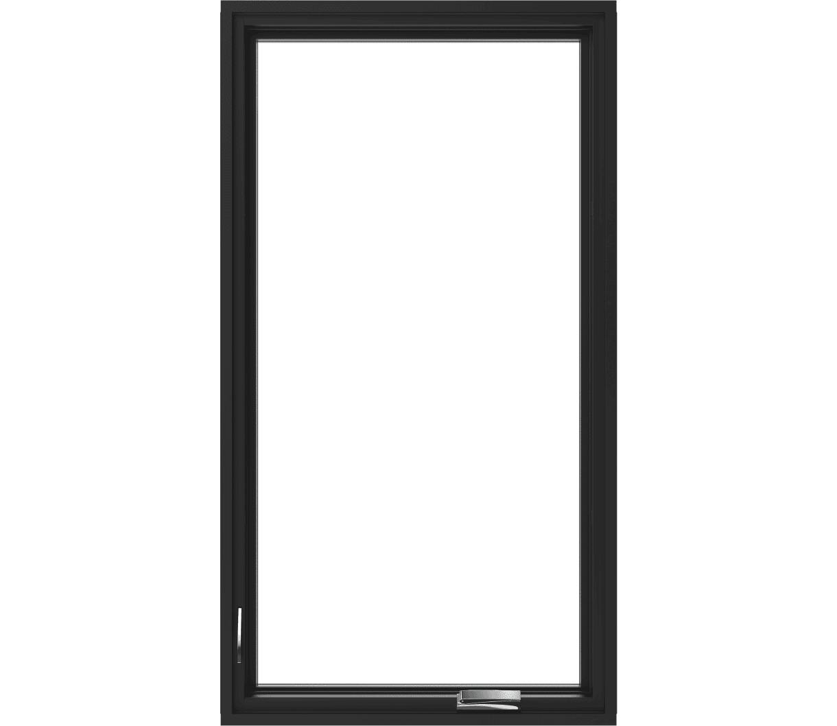 pella reserve contemporary casement window with no background