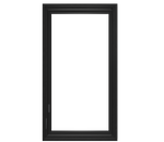 large illustration of a push-out casement window