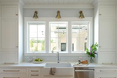 kitchen windows southern home