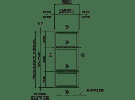 fiberglass vertical stacks technical illustration
