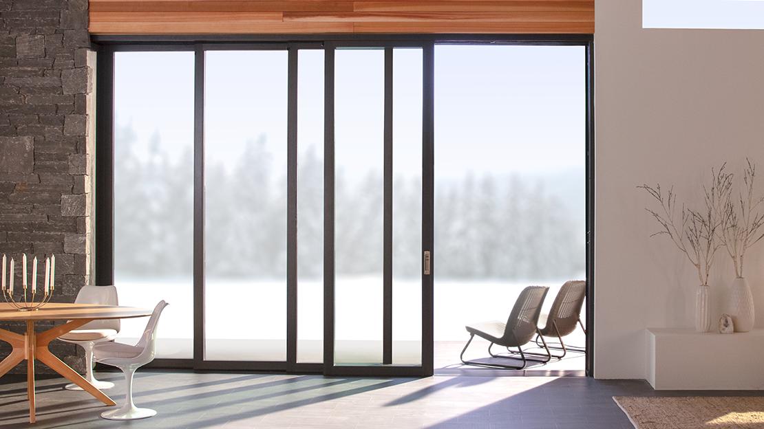 scenescape multi-slide patio door