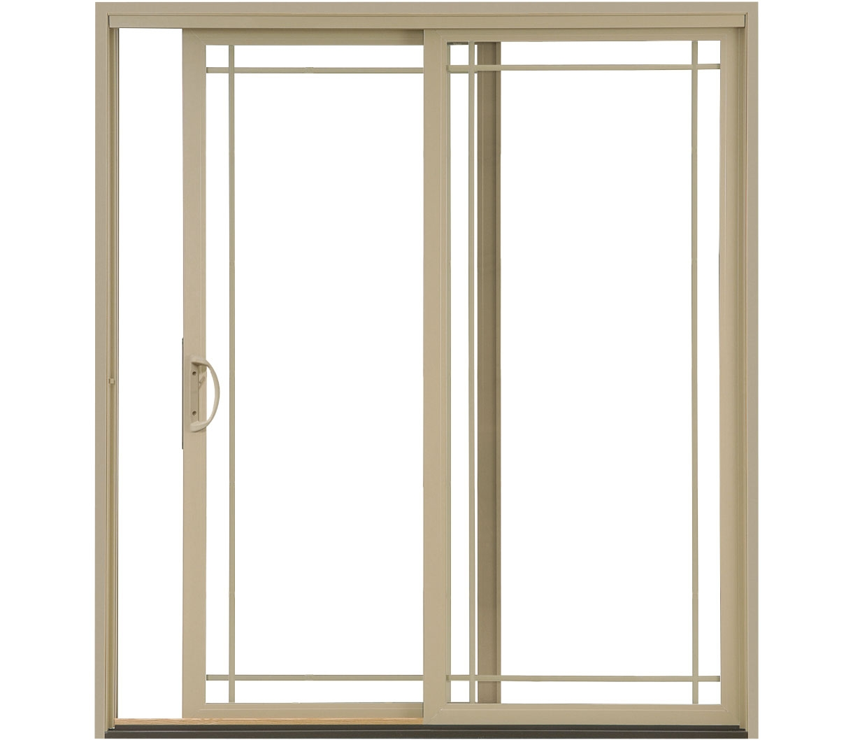 Impervia-sliding-door-almond