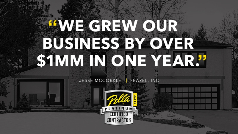 Image of Feazel quote we grew our business