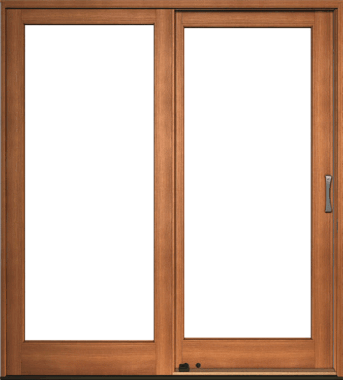 Pella Architect Series Traditional Wood Sliding Patio Doors Pella