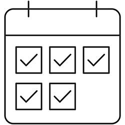 calendar icon schedule a service visit