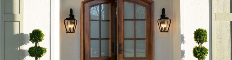 wood entry door finishes two arched top entry door panels