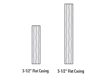 rough smooth flat casing trim casing