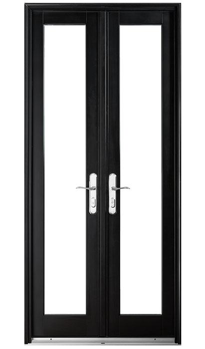 custom patio door with a narrow width