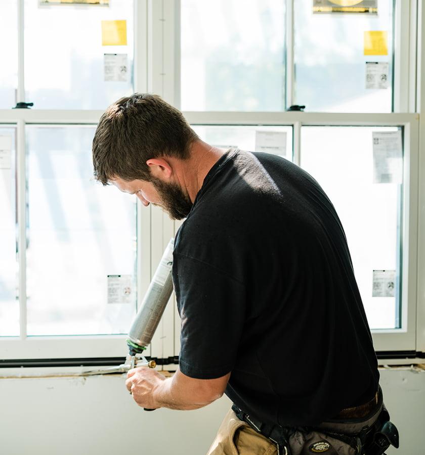 construction on new wood windows