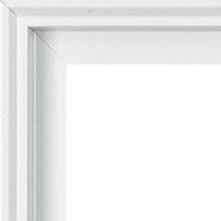 white enduraclad paint window corner