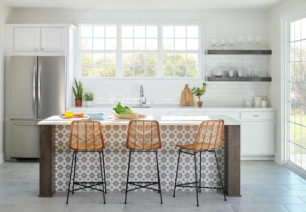 Kitchen Windows Design Ideas White And Light Pella