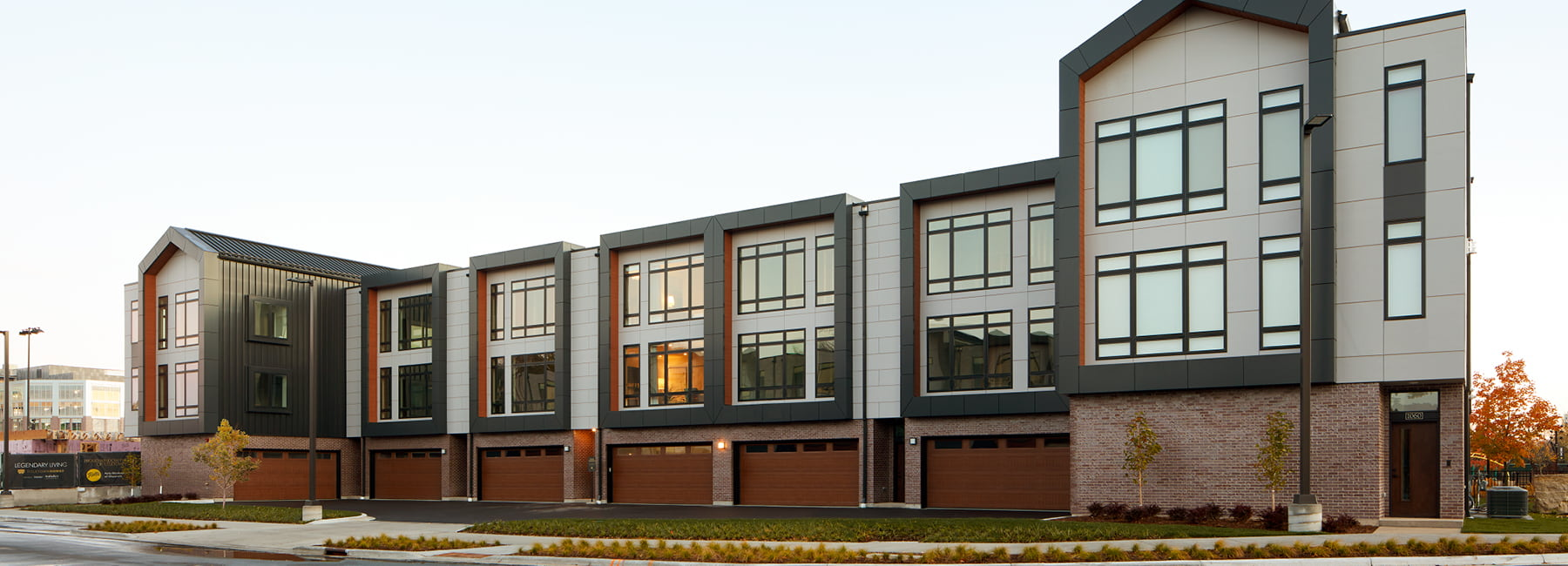titletown apartment complex impervia windows and doors