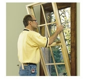 Replacement of Sash Only Using Pocket Installation