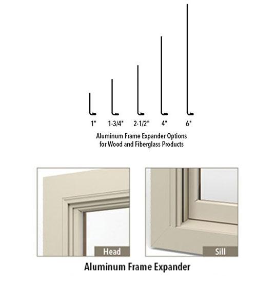 fiberglass frame expander