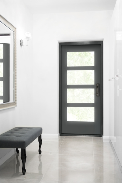 Contemporary Modern Entry Doors Pella