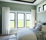 Impervia single-hung bedroom