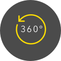 360 Rotating Image Icon