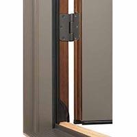 adjustable hinge on an architect series hinged door