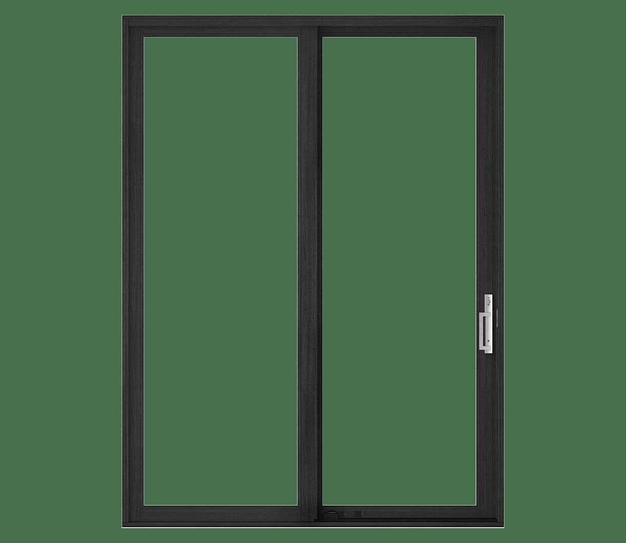 large illustration of a sliding patio door