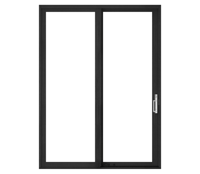 large illustration of a sliding patio door