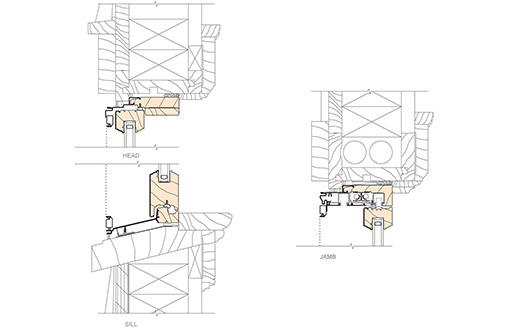 retain existing frame installation details