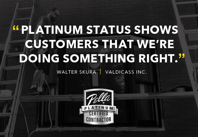 """""""Platinum status shows customers that we're doing something right"""""""