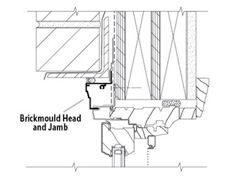 traditional wood installation head detail