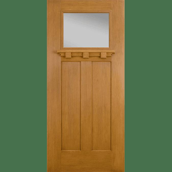 craftsman light entry door cob