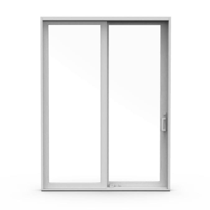 Pella Architect Series Contemporary Wood Sliding Patio Doors Pella