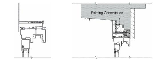 fiberglass block frame with T-subframe
