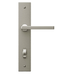 satin nickel spiere handle