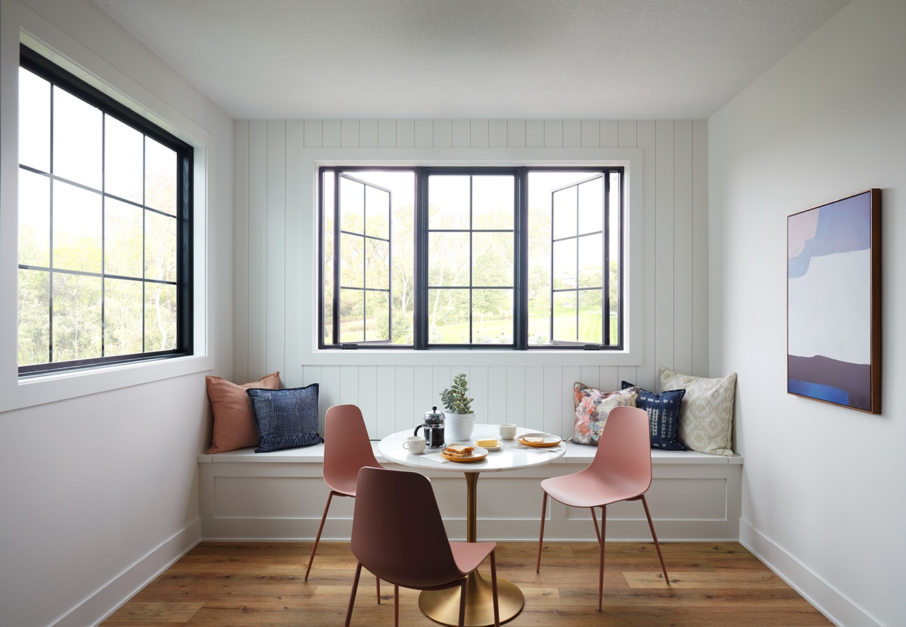 Clever Kitchen Seating Idea Banquette Below Windows Pella
