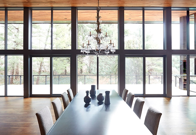 Stand Out Pella Dining Room Windows
