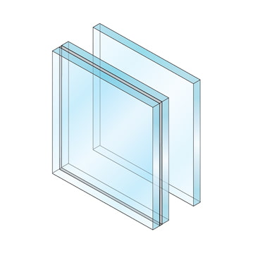 laminated glass rendering