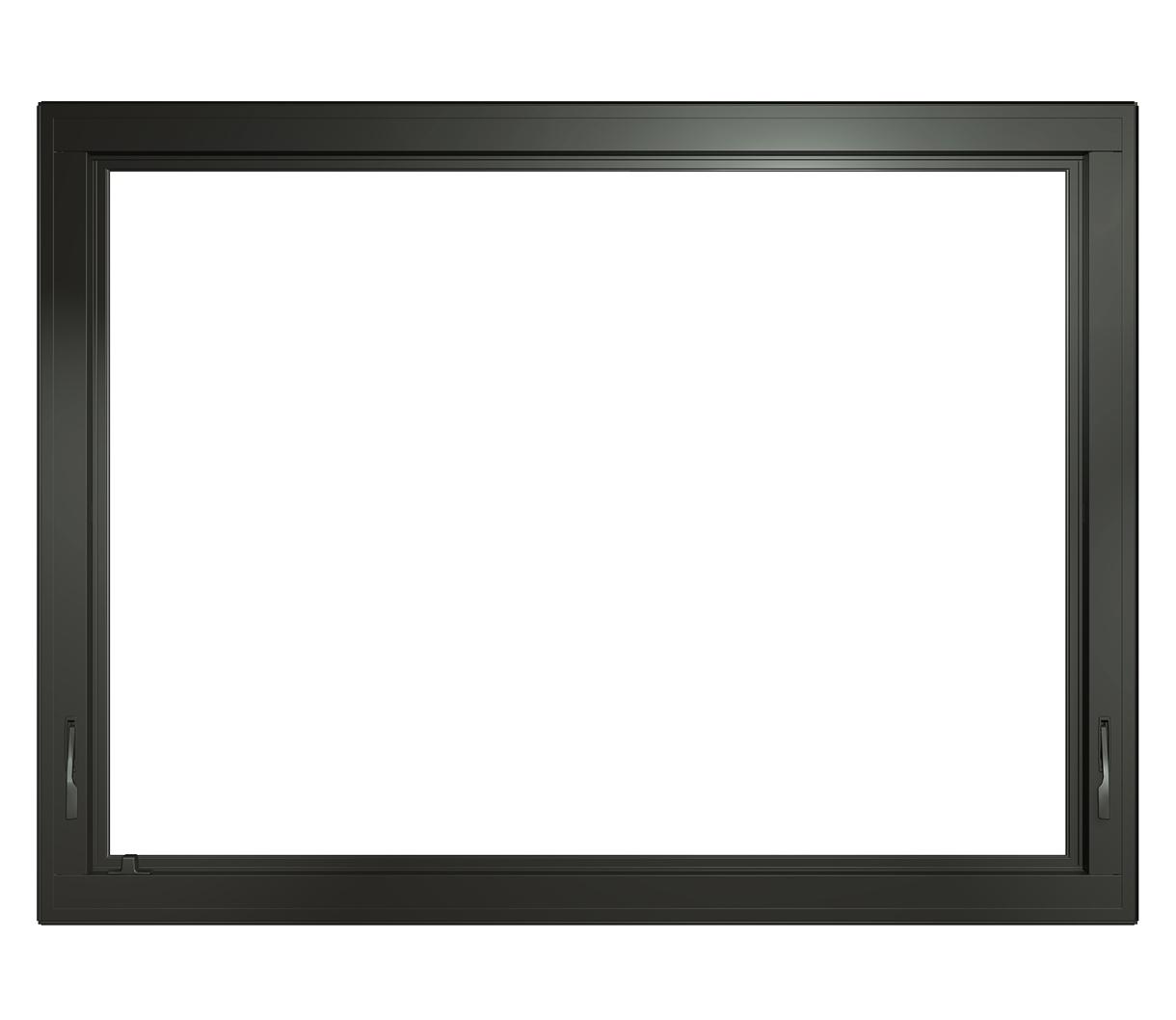 black impervia awning window cob