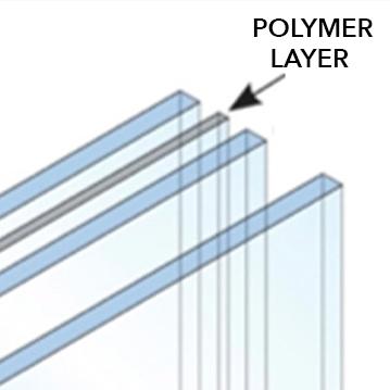 impact resistant glass rendering
