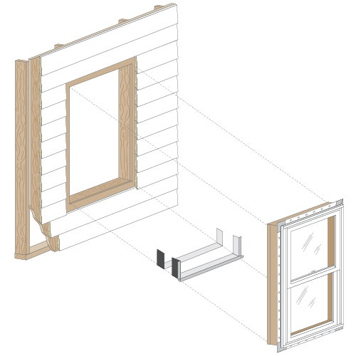 Full Frame Replacement Window Installation Pella