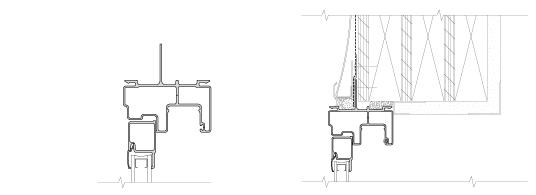 integral fin technical drawing for fiberglass