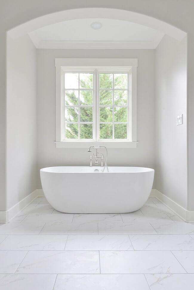 4 Modern White Bathroom Window Ideas Pella