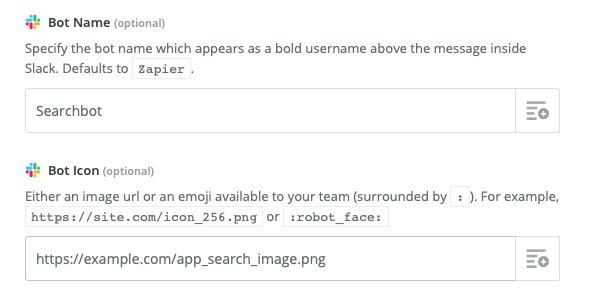 name: Slackbot picture: APP SEARCH!