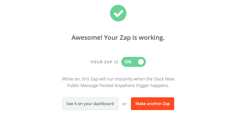 ENABLE THE ZAP!