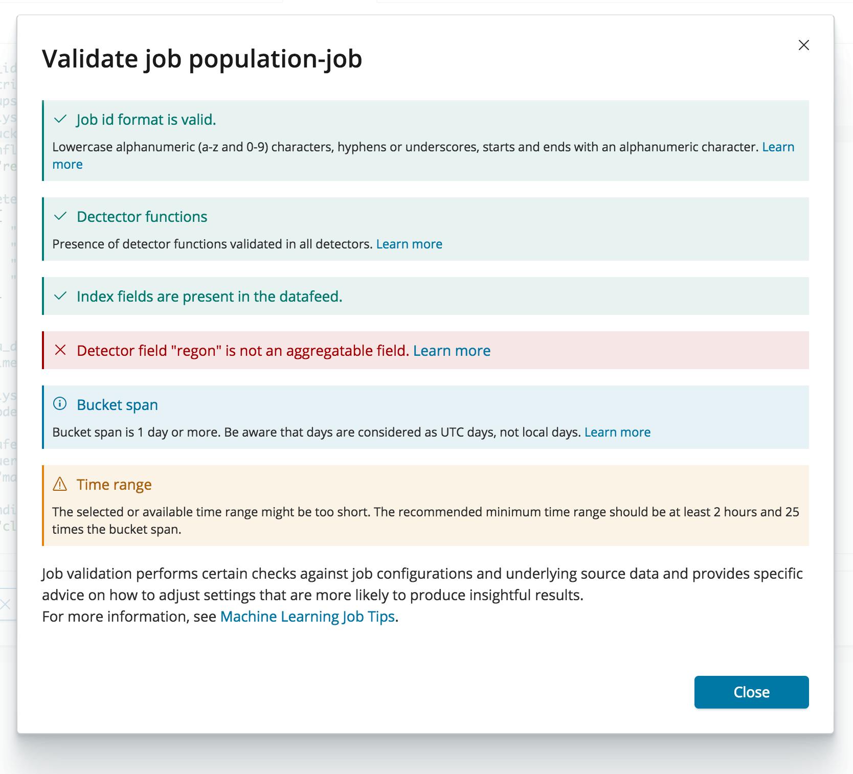 Job Validation