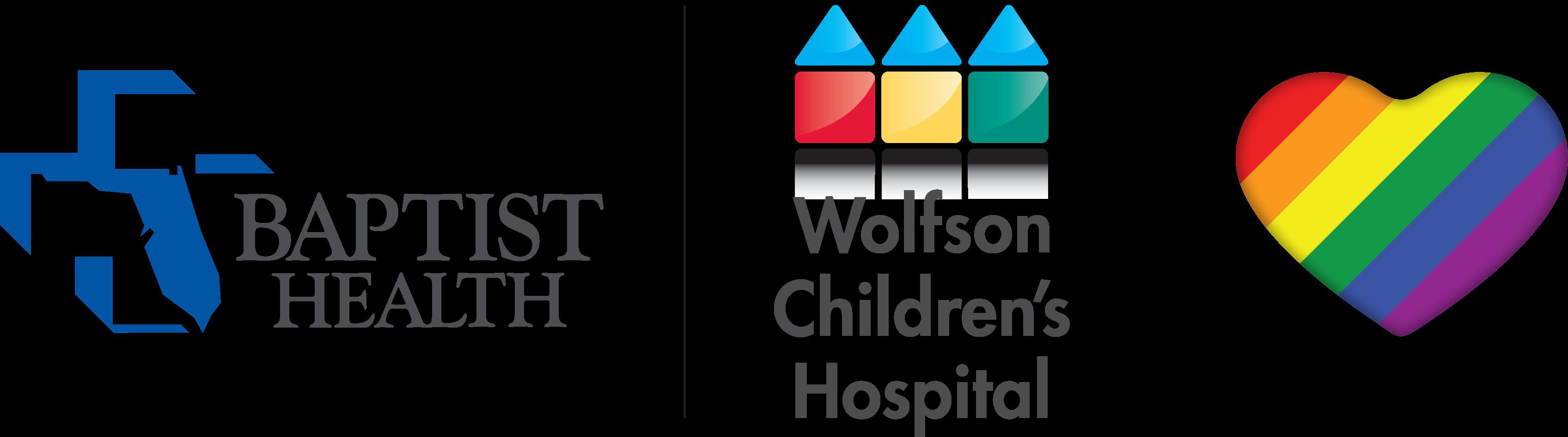 Baptist Health PRIDE Logo