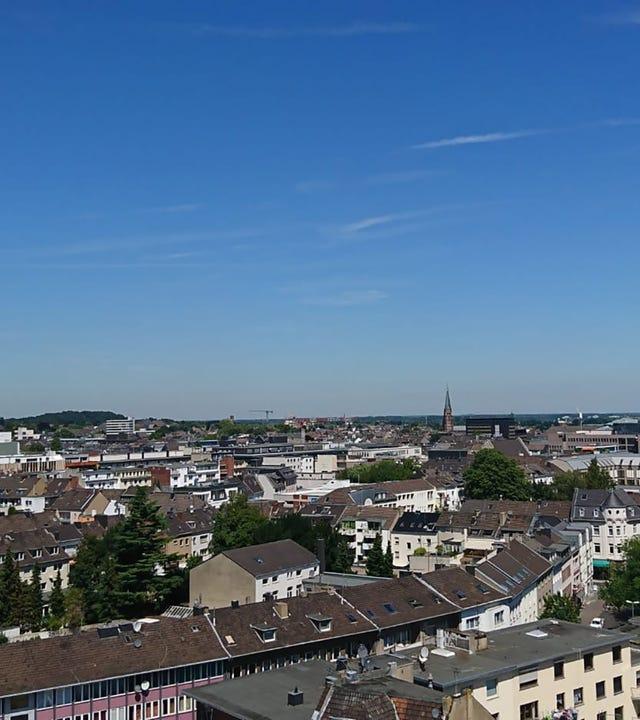 Blick über Mönchengladbach